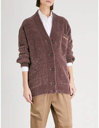 Brunello Cucinelli Ribbed cashmere-blend cardigan