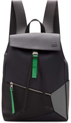 Loewe Navy Puzzle Backpack