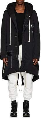 Rick Owens Men's Cotton-Blend Hooded Parka
