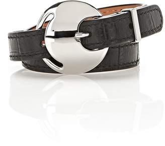 Alexander Wang Embossed Double Wrap Bracelet