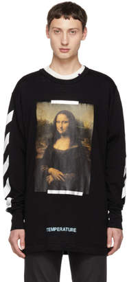Off-White Off White SSENSE Exclusive Black Diagonal Monalisa T-Shirt