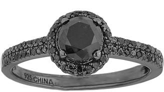 Black Diamond Affinity Diamond Jewelry Affinity 1.00 cttw Ring, Sterling