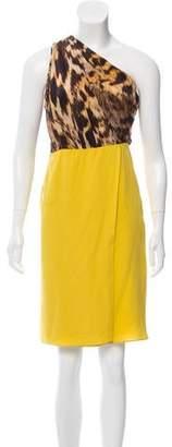 Yigal Azrouel Silk Knee-Length Dress