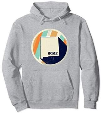 Vintage New Mexico Hoodie State Home Retro Sweatshirt