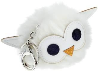 Kohl's Owl Pom Pom Key Chain