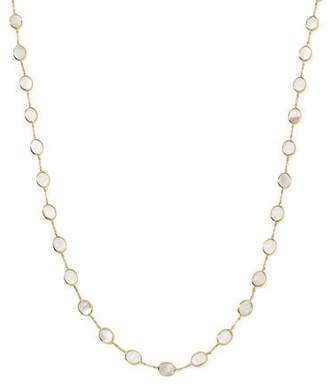 """Ippolita Polished Rock Candy 18k Gold Confetti Necklace 36"""", Mother-of-Pearl"""