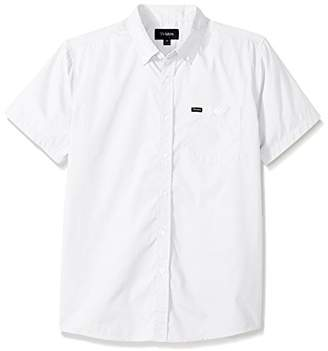 Brixton Men's Central Short Sleeve Woven Shirt