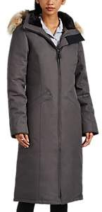 Canada Goose Women's Elrose Tech-Twill Long Parka - Gray