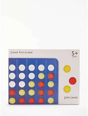 John Lewis Four In A Row Travel Game