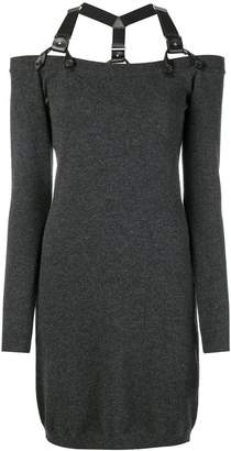 Moschino harness neck knitted jumper