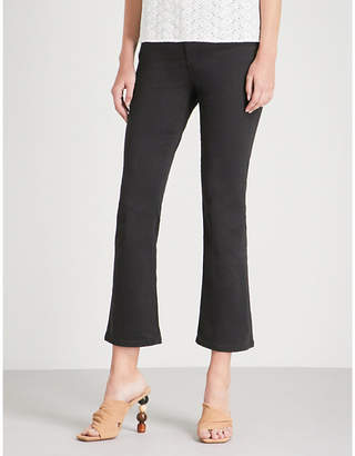 AG Jeans Jodi cropped slim-fit high-rise jeans