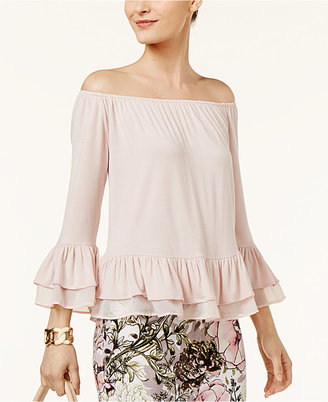 Eci Off-The-Shoulder Top $50 thestylecure.com