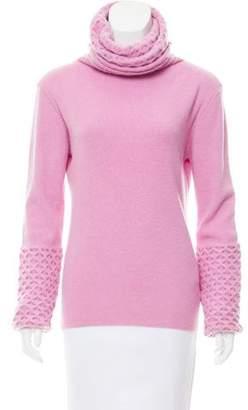 Temperley London Wool Cowl Sweater