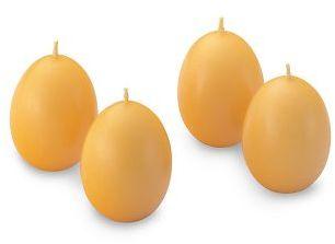 Easter Egg Candles, Set of 4