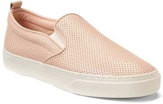 Leather slip-on sneakers $49.95 thestylecure.com