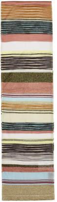 Missoni Multicolor Glittered Stripe Scarf
