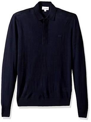 Lacoste Men's Long Sleeve Wool Nouvelle Polo Sweater