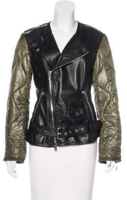 3.1 Phillip Lim Leather Quilted Jacket