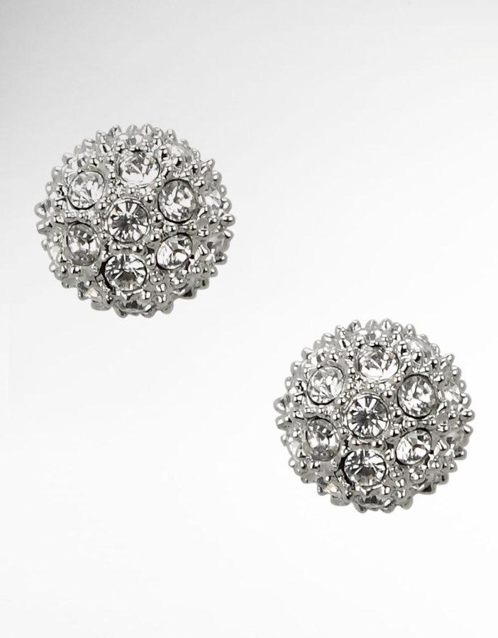 NINA JEWELRY Kendahl Crystal Stud Earrings