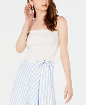 Lucy Paris Mimi Smocked Strapless Top