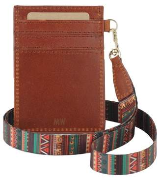 Most Wanted Design by Carlos Souza ID Card Holder with Detachable Strap