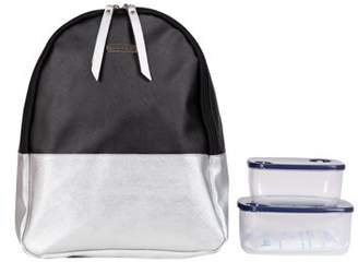 Kathy Ireland Silver Screen Mini Backpack Lunch Tote