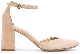 Chloé 'Lauren' ankle strap pumps