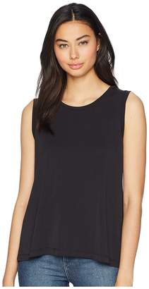BB Dakota Couch Party Poly Modal Tank Top with Snaps Women's Sleeveless