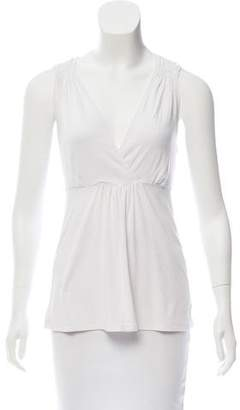 MICHAEL Michael Kors Sleeveless Surplice Top