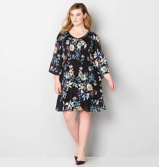 Avenue Bodre Floral Cold Shoulder Dress