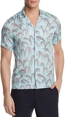 Sandro Palm Slim Fit Button-Down Shirt - 100% Exclusive