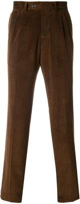 Eleventy corduroy straight trousers