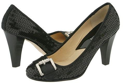 MICHAEL Michael Kors - Tiara Pump (Black Sequins)