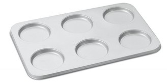 Cuisinart Chef's Classic Bakeware 6 Cup Muffin Top Pan
