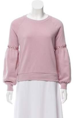 Rebecca Minkoff Embellished Lightweight Sweatshirt