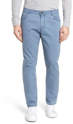 Brax Chuck Flat Front Stretch Cotton Pants