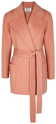 Acne Studios Anyka Wool And Cashmere Blend Coat