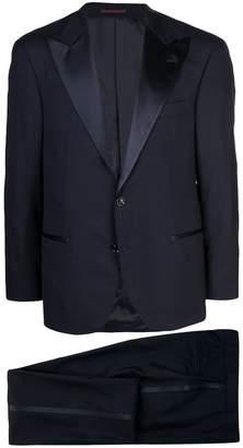 v-neck tuxedo jacket
