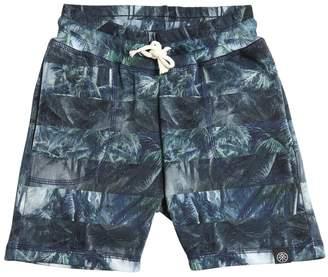 Molo Palms Print Cotton Shorts