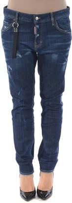 DSQUARED2 Logo Strap Jeans