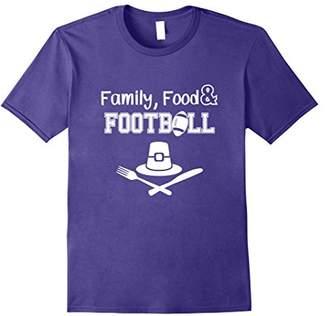 Three Pillars of Bliss Thanksgiving Football T Shirt Dark
