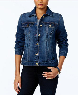 Tommy Hilfiger Denim Jacket, Only at Macy's $119.50 thestylecure.com
