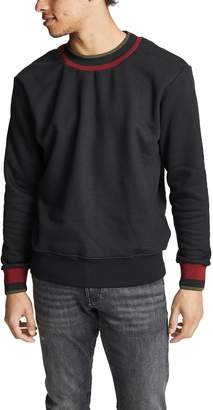 Twenty Mock Neck Fashion Band Sweater
