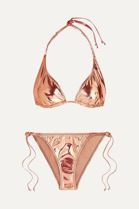 Lisa Marie Fernandez Pamela Metallic Bikini