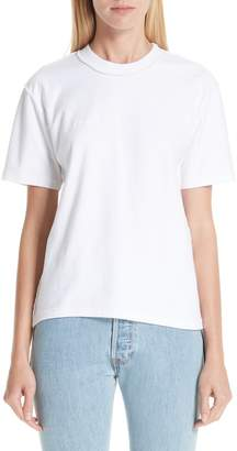 Vetements Fitted Inside-Out Tee