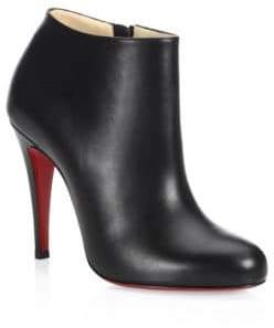 Christian Louboutin Nappa Shiny Leather Booties