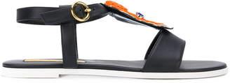 Rupert Sanderson Bowie embellished sandals