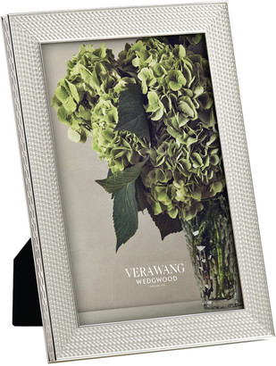 Vera Wang Wedgwood With Love Silver Photo Frame