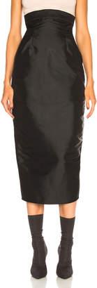 Rick Owens Shirt Dirt Pillar Skirt