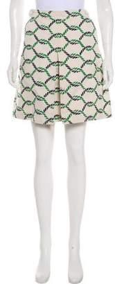 Alexander Wang Linen-Blend Mini Skirt